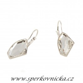 Náušnice GALACTIC 19mm se SWAROVSKI ELEMENTS, crystal